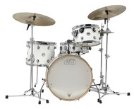 DW Design Series Frequent Flyer 4pc Shell Pack Gloss White