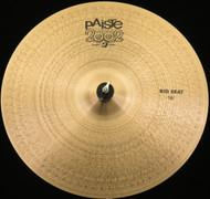 Paiste 18 2002 Big Beat Cymbal