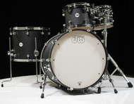 DW Design Series 5pc Drum Set 22/10/12/16/14 - Black Satin