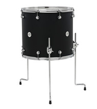 DW Design Series 16x18 Floor Tom Black Satin