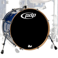 PDP Concept Maple Blue Sparkle Bass Drum - 18x24