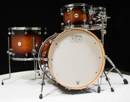 DW Design Series Drum Set 22/10/12/16 - Tobacco Burst