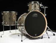 DW Performance 3pc Drum Kit Gold Nebula 13/16/24 Front