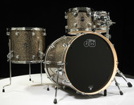 DW Performance Series 4pc Shell Pack 10/12/16/22 Gold Nebula - Front
