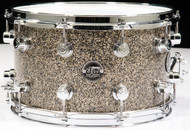 W Performance Series 8x14 Snare Drum Gold Nebula  Front