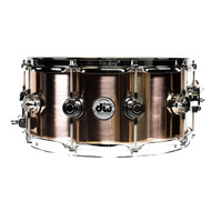 DW Bell Bronze 6.5x14 Snare Drum Chrome Hardware