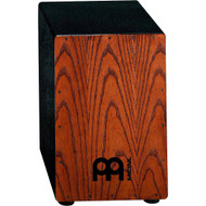 """Meinl Headliner Cajon 11 3/4 W x 18"""" H x 11 3/4"""" D Frontplate: Stained American White Ash"""