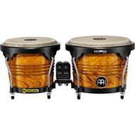 Meinl Free Ride Series Wood Bongos 6 3/4 & 8 Amber Flame