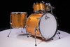 Gretsch Brooklyn Series Gold Sparkle 4 pc shell pack (DW double tom stand not included)