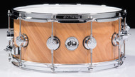 DW Collector's Series Exotic Snare 6.5 x 15 Twisted Birch