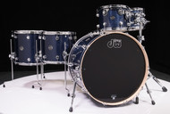DW Performance Series 6pc Shell Pack 10/12/14/16/22/14SD Indigo Glass