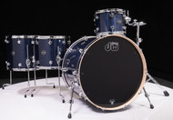 DW Performance Series 4pc Shell Pack  Indigo Glass 12/14/16/22
