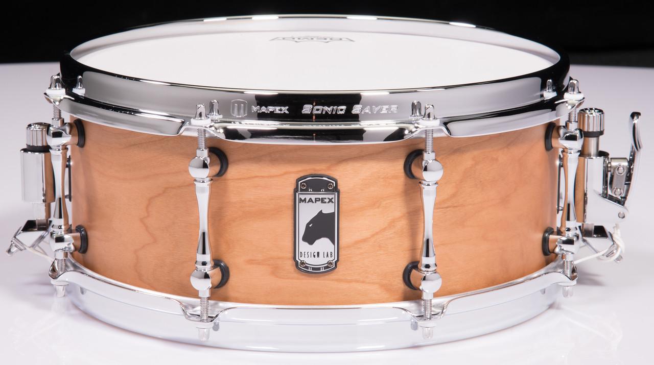 mapex black panther design lab 13 x5 5 cherry bomb snare drum. Black Bedroom Furniture Sets. Home Design Ideas