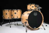 Mapex Saturn V Exotic Shell 5pc Studioease - Natural Maple Burl - Front Angle
