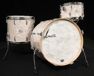 Sonor Vintage Series 3pc Shell Pack 13/16/22 - Vintage Pearl - Front Angle