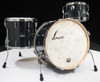 Sonor Vintage Series 3pc Shell Pack 13/16/22 - Vintage Black Slate - Front Angle
