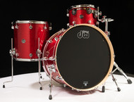 DW Performance Series 3pc Shell Pack 13/16/24 Red Sparkle