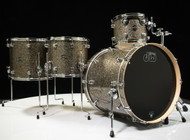DW Performance Series 4pc Shell Pack Gold Nebula 12/14/16/22 - Front