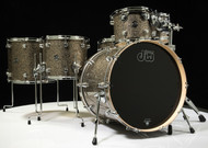 DW Performance Series 6pc Shell Pack 10/12/14/16/22/14SD Gold Nebula - Front