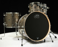 DW Performance Series 4pc Shell Pack Gold Nebula 10/12/16/24 - Front