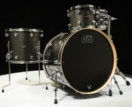 DW Performance Series 4pc Shell Pack Pewter Sparkle 10/12/16/24