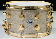 DW Collector's Broken Glass 8x 14 w/ Gold Hardware Front