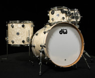 DW Collector's Series Pure Cherry 5pc Kit Vintage White Marine