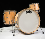 PDP Concept Maple Classic 3 pc Shell Pack- Natural with Walnut Hoop
