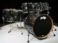 PDP Concept Maple 7pc Shell Pack - Black Sparkle