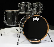 PDP Concept Maple 5pc Shell Pack - Black Sparkle