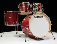 Yamaha Tour Custom 4pc Shell Pack 10/12/14/20- Candy Apple Satin - Front
