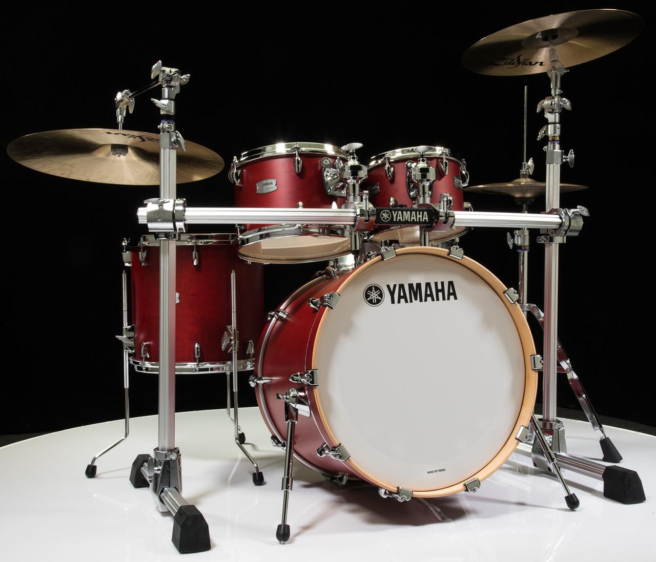 yamaha tour custom 4pc shell pack 10 12 14 20 candy apple. Black Bedroom Furniture Sets. Home Design Ideas