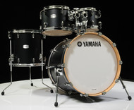 Yamaha Tour Custom 4pc Shell Pack 10/12/14/20- Licorice Satin - Front