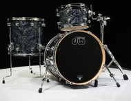 DW Performance Series 3pc Bop Pack 12/14/18 Black Diamond - Front