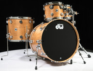 DW Collector's Pure Cherry Shells 4pc 10/12/16/22 Satin Oil