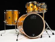"DW Performance Series 4pc Gold Sparkle 20"" Kick Drum"