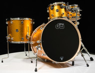 DW Performance Series 5pc Shell Pack Gold Sparkle with 6.5x14 Snare