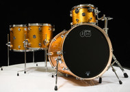 DW Performance Series 4pc Shell Pack Gold Sparkle 12/14/16/22