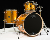DW Performance Series 3pc Shell Pack Gold Sparkle 12/14/20
