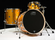 DW Performance Series 3pc Shell Pack Gold Sparkle 12/16/22 Shallow