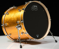 DW Performance Series 18x22 - Gold Sparkle - Front Angle