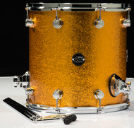 DW Performance Series 14x14 Floor Tom - Gold Sparkle