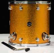 DW Performance Series 16X16 Floor Tom - Gold Sparkle