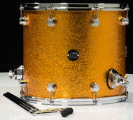 DW Performance Series 14X16 Floor Tom - Gold Sparkle
