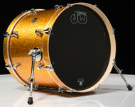 DW Performance Series 16x20 Bass Drum - Gold Sparkle