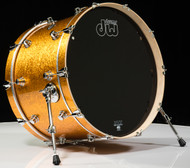 DW Performance Series 14x22 Bass Drum - Gold Sparkle