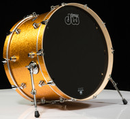 DW Performance Series 14x24 Bass Drum - Gold Sparkle