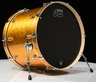 DW Performance Series 18x24 Bass Drum - Gold Sparkle