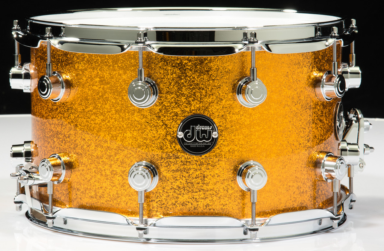 Dw Performance Series 8x14 Snare Gold Sparkle