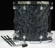 DW Performance Series 16X16 Floor Tom - Black Diamond